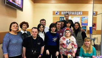 ВТУСУРе прошла художественная выставка молодых людей синвалидностью