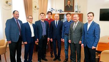ВТУСУРе работает делегация сотрудников «Концерна Энергомера»