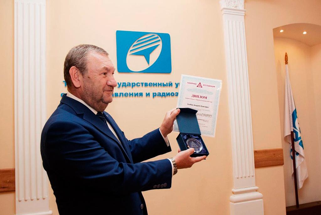 Ректор ТУСУРа А. А. Шелупанов