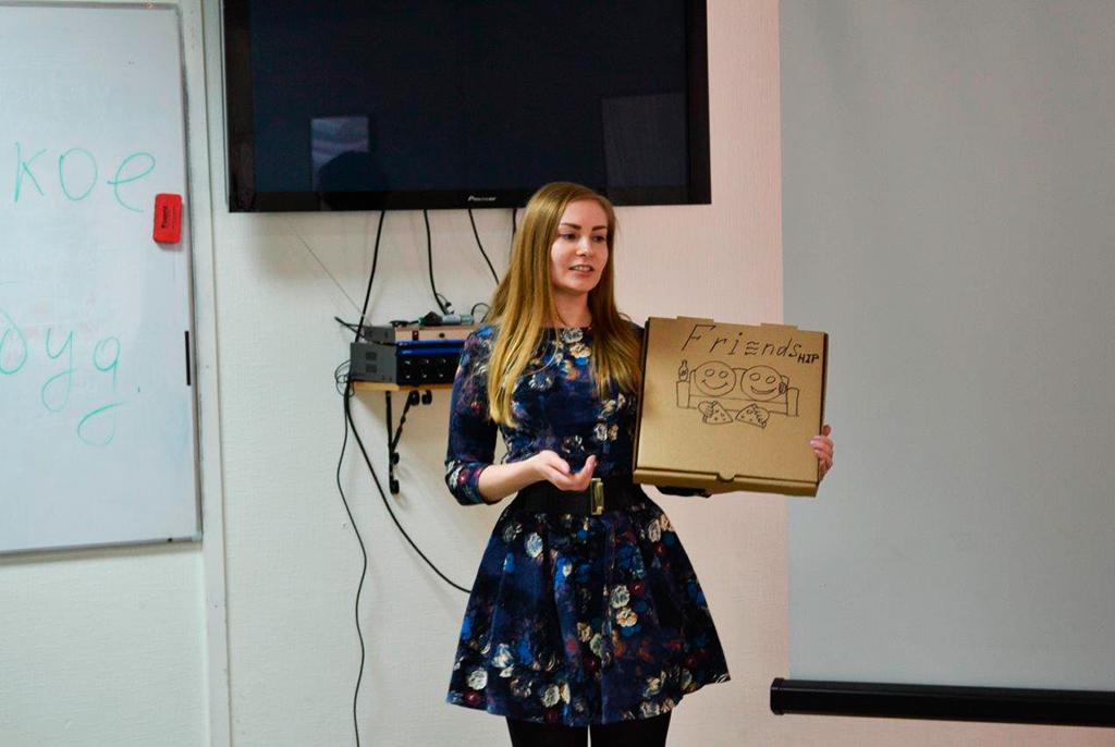 Семантический диктант икоробка дляпиццы: каквТУСУРе прошёл открытый семинар побрендингу