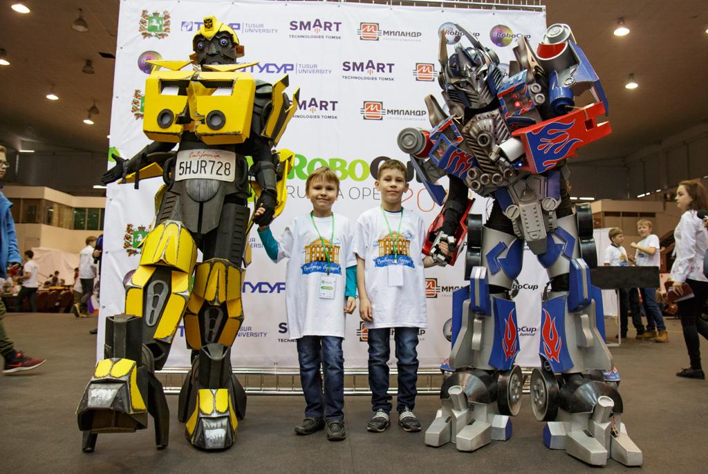 RoboCup – 2018: ТУСУР вновь открыл масштабные соревнования вТомске