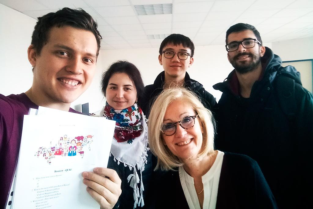 Международная мобильность: студенты ТУСУРа изучают BigData воФранции