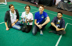 Four TUSUR Teams Among Winners of RoboCup Russia Open 2018