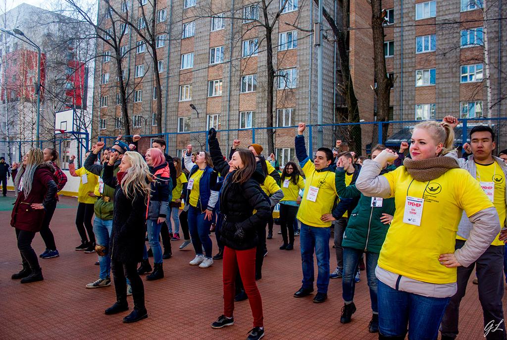 Втусуровском квесте коДню радио приняли участие томские студенты ишкольники