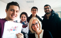 International Mobility: TUSUR Students Study Big Data in France