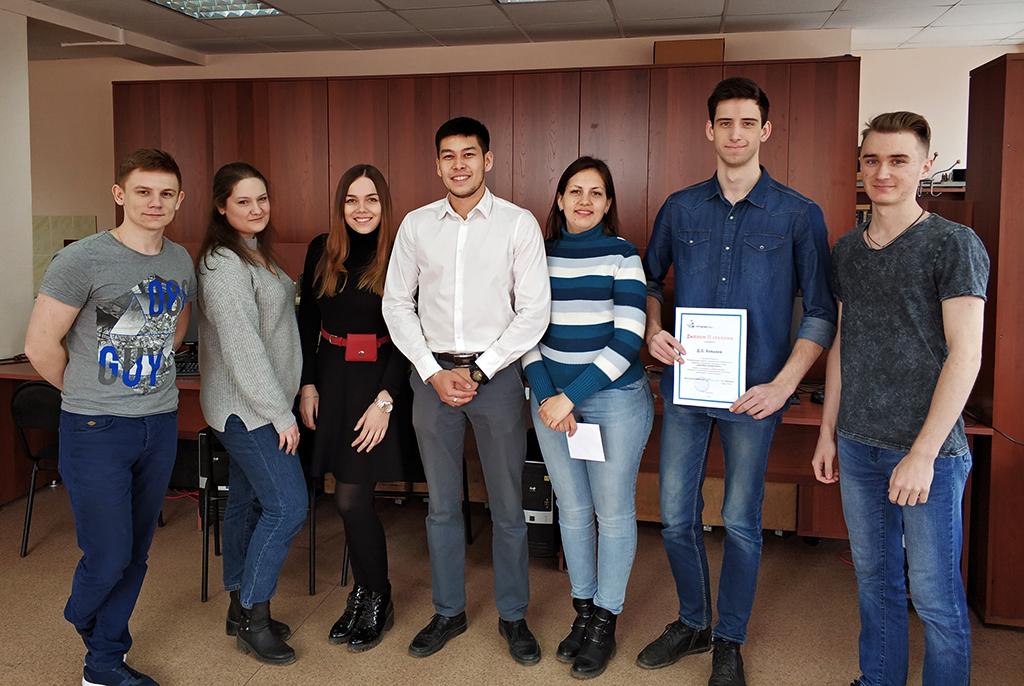 Лучшие докладчики конференции «Научная сессия ТУСУР – 2018» были награждены премией имени Е. С.Коваленко