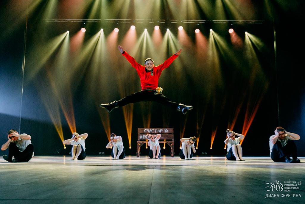 ТУСУР – лауреат всероссийского фестиваля «Российская студенческая весна – 2018»