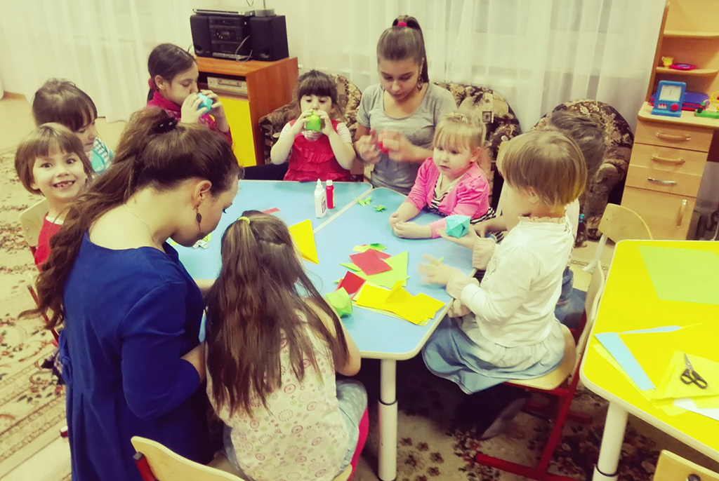 Социальный проект волонтёров ТУСУРа – длявоспитанников реабилитационного центра