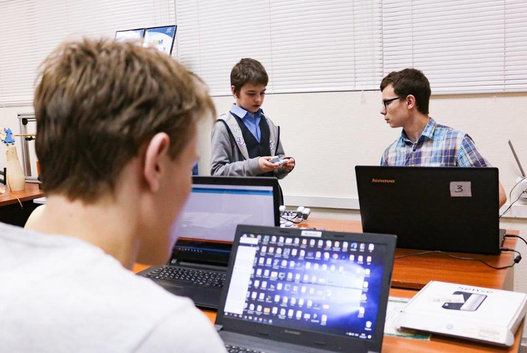 Летние проектные смены вТУСУРе дляшкольников помогут построить карьеру программиста