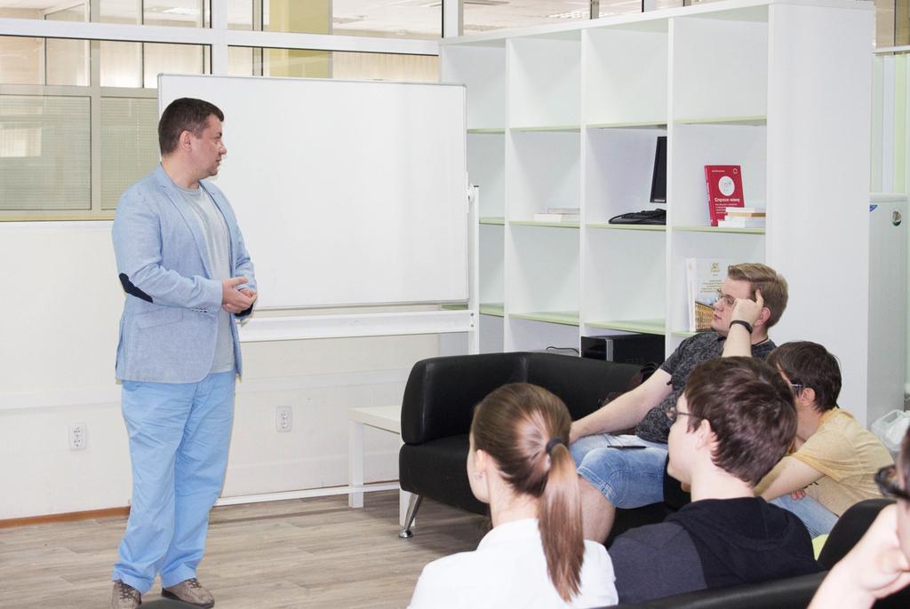 ВСБИ «Дружба» прошёл IT-квартирник сруководителем компании Enbisys Дмитрием Бубновым