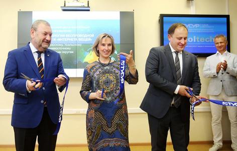 ТУСУР и Сколковский институт науки и технологий открыли первый в России центр компетенций НТИ по направлению «Технологии беспроводной связи и Интернета вещей»