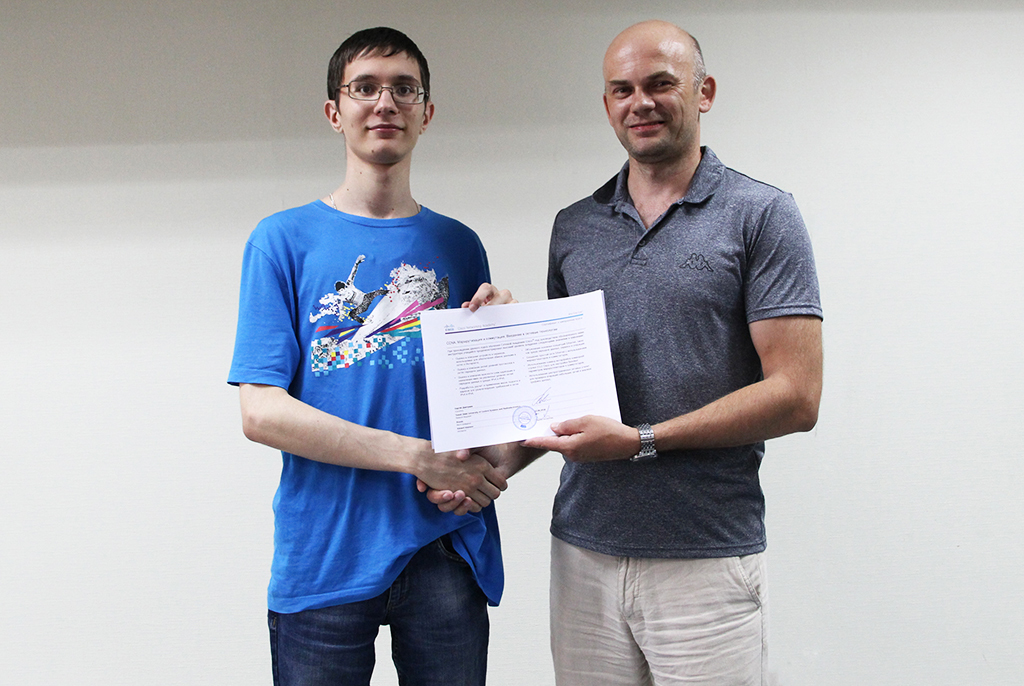 Студенты ТУСУРа получили международные сертификаты Cisco