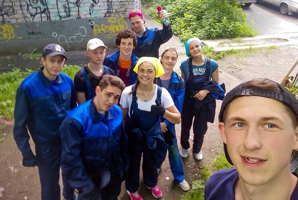 Студенты ТУСУРа участвуют вблагоустройстве города