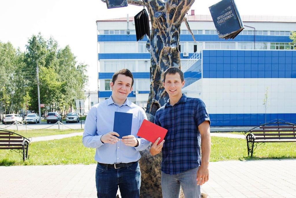 ВТУСУРе состоялся первый выпуск совместной магистратуры сЛиможским университетом (Франция)