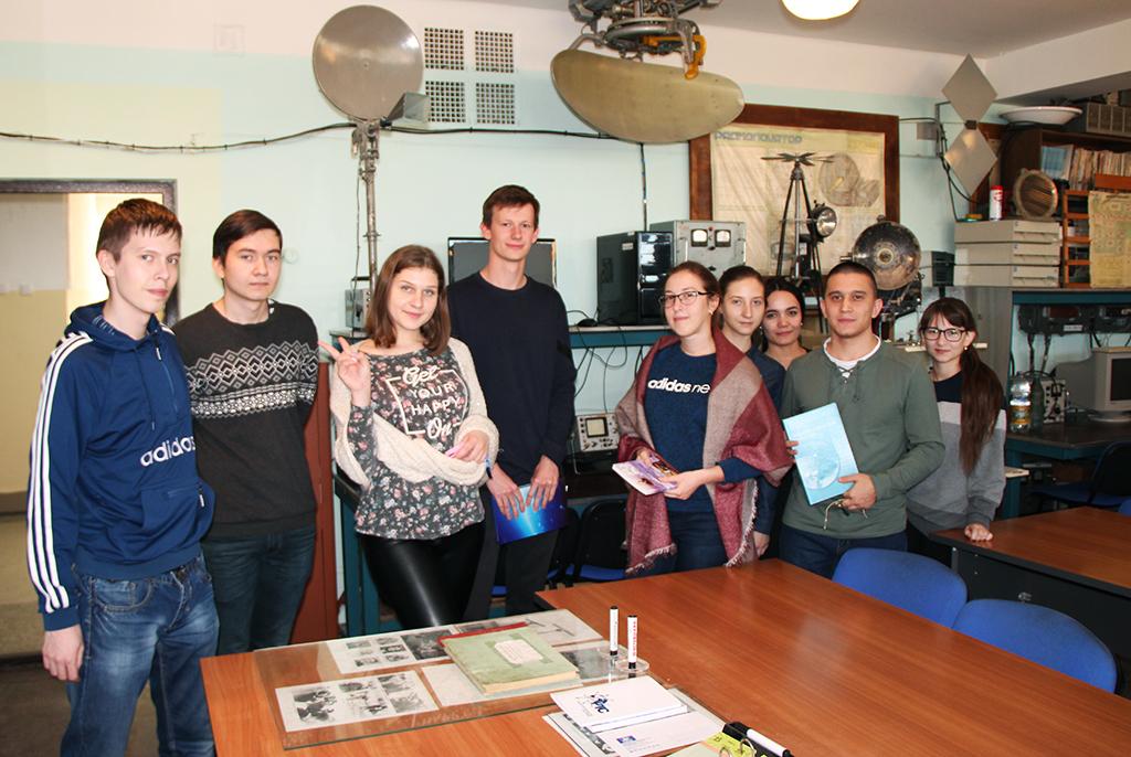 6октября накафедре радиотехнических систем состоялось посвящение первокурсников