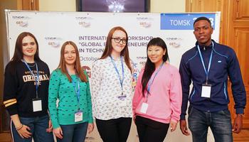 International Students Dive Deep Into Entrepreneurship atGET International@TUSUR