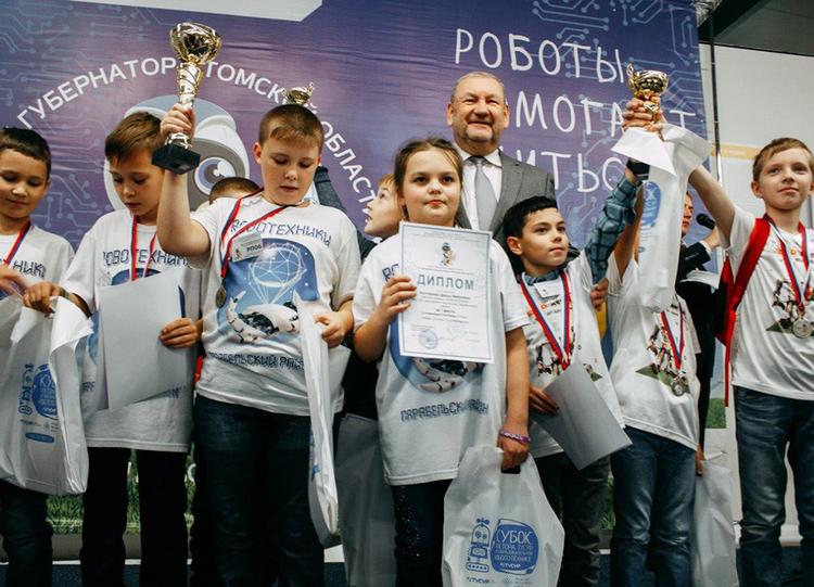 Кубок губернатора Томской области иКубок ректора ТУСУРа поробототехнике