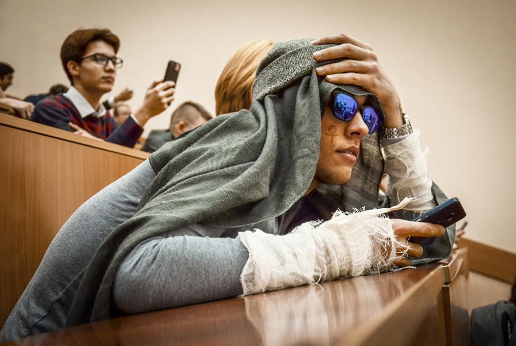 Посвящение первокурсников ФЭТ– 2018: автостопом поэпохам