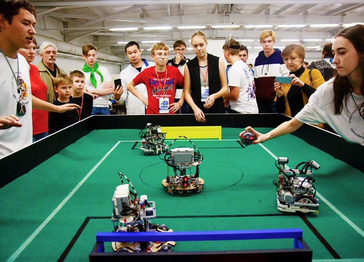 Governor's Cup and Rector's Cup in Robotics