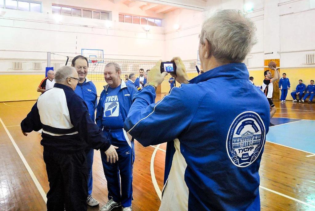 Научно-спортивная встреча: состоялась традиционная спартакиада ректоратов ТУСУРа иНГТУ