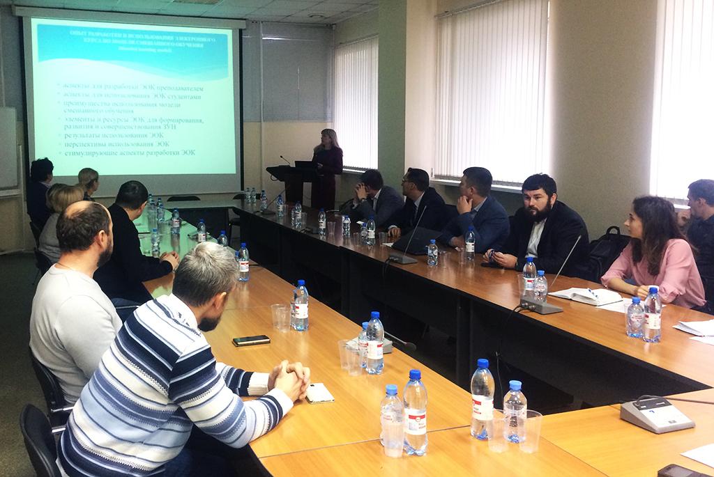 ВТУСУРе прошёл семинар, посвящённый перспективам развития электронного обучения