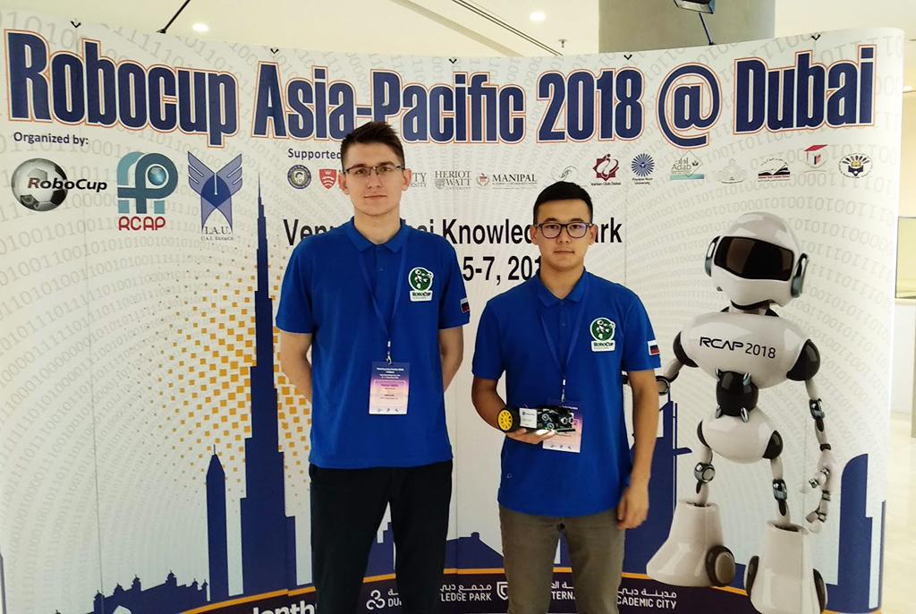 Триумф российских робототехников изТУСУРа начемпионате RoboCup Азиатско-Тихоокеанского региона