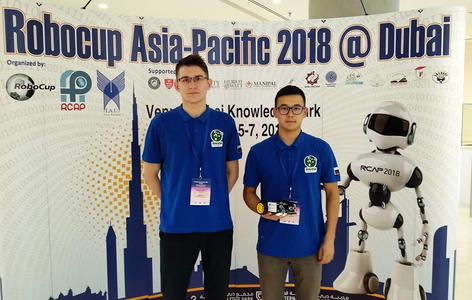 Триумф российских робототехников из ТУСУРа на чемпионате RoboCup Азиатско-Тихоокеанского региона