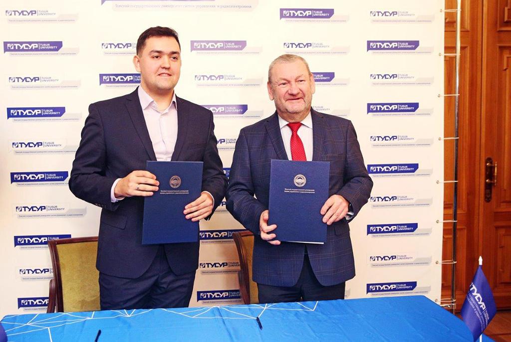 ТУСУР иинновационная компания «ТЕСАРТ» подписали соглашение иоткроют новый центр