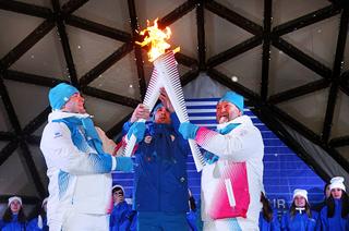 Кактусуровцы встретили эстафету огня