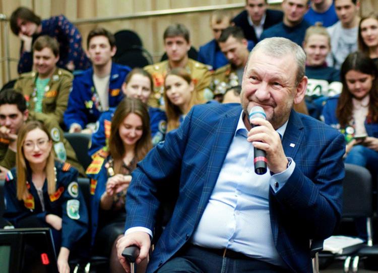 Встреча студентов ТУСУРа сректором Александром Шелупановым