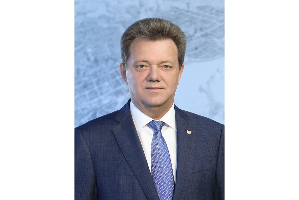 Поздравление мэра г.Томска Ивана Кляйна сДнём российского студенчества