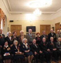 День победы. Ветераны вузов, 2008 г. Фотоархив Дома учёных
