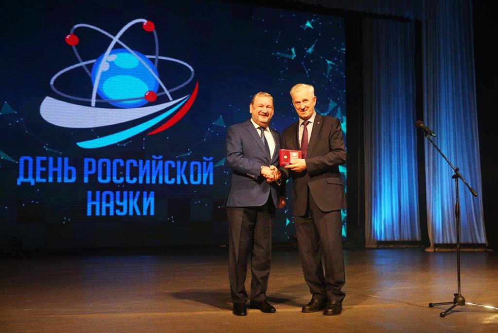 Юрий Шурыгин награждён знаком «Почётный профессор Томского профессорского собрания»