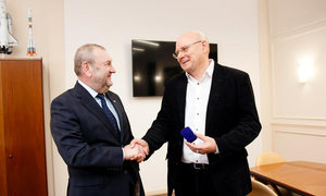 Prominent Researcher Sergey Odintsov Awarded TUSUR Silver Pin