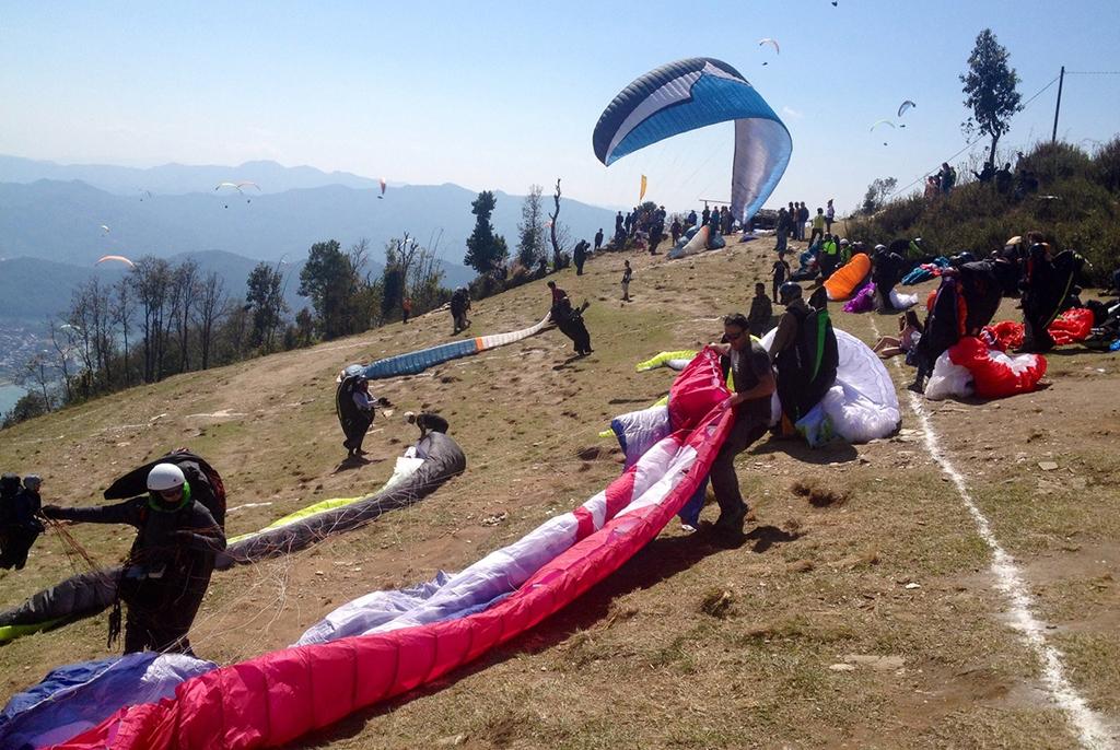 Парапланеристы ТУСУРа представили Россию на соревнованиях в Непале