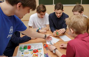 Инженерный квест для старшеклассников в школе «Перспектива»
