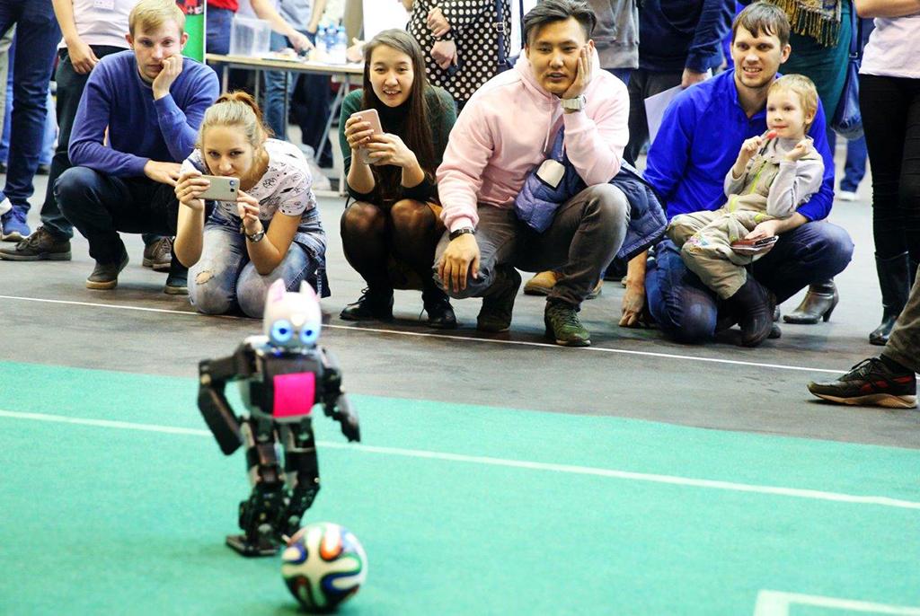 Российский этап мирового чемпионата роботов RoboCup – 2019: новые игры и больше зрелищности