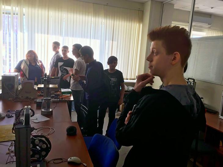 ТУСУР посетили участники конкурса научно-технологических проектов «Большие вызовы»