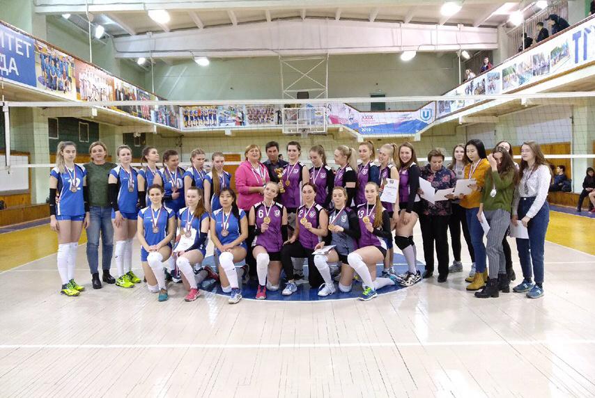 Сборная ТУСУРа – бронзовый призёр областного первенства по волейболу среди вузов