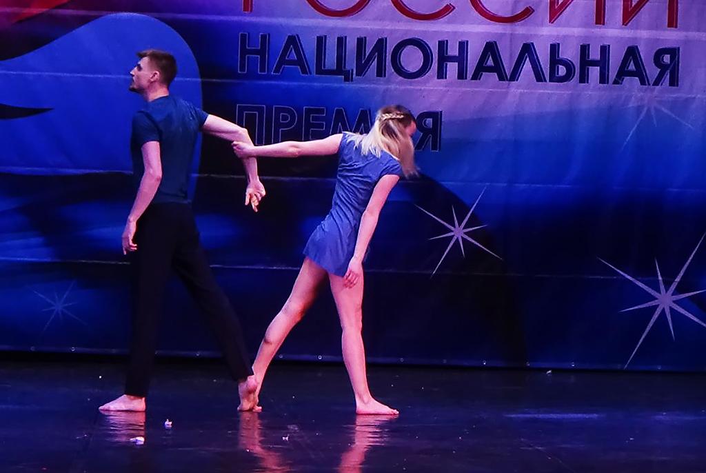 Танцевальный дуэт ТУСУРа вышел в финал национальной премии «Будущее России»