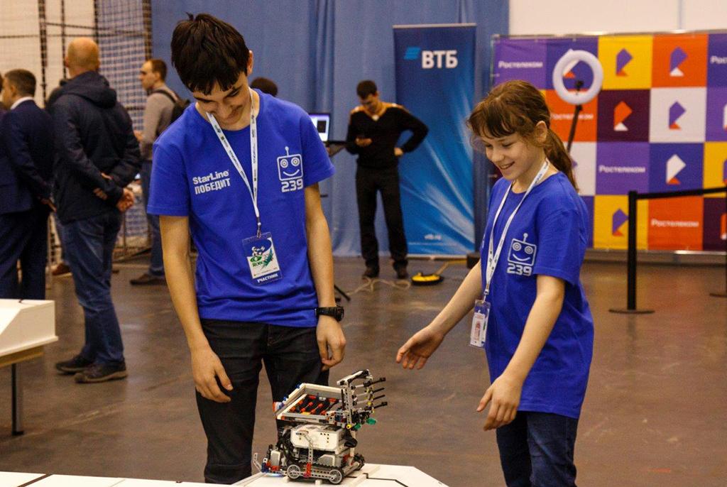 В четвёртый раз в Томске открыли этап чемпионата мира RoboCup