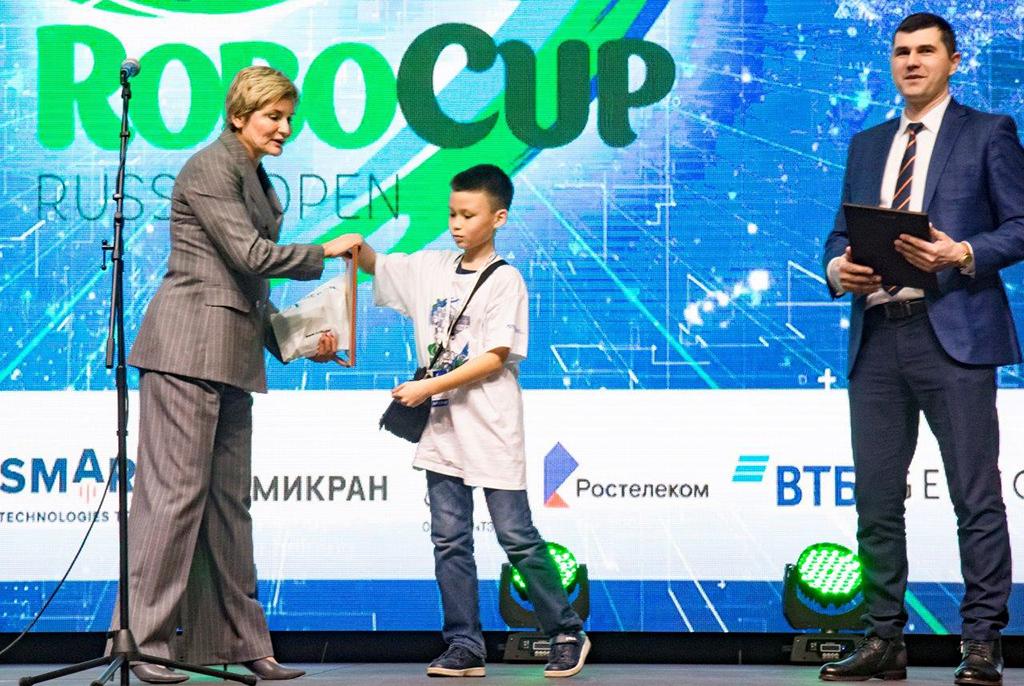 Команды ТУСУРа заняли все призовые места в одной из лиг главного чемпионата RoboCup страны