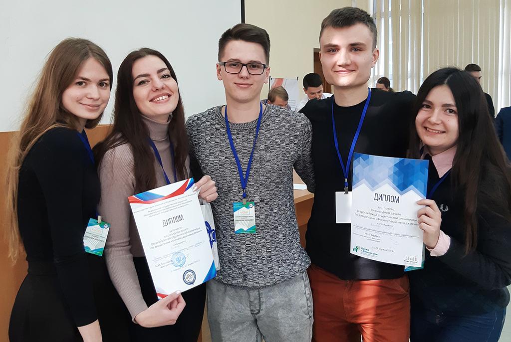 Студенты ТУСУРа – призёры всероссийской олимпиады по финансовому менеджменту