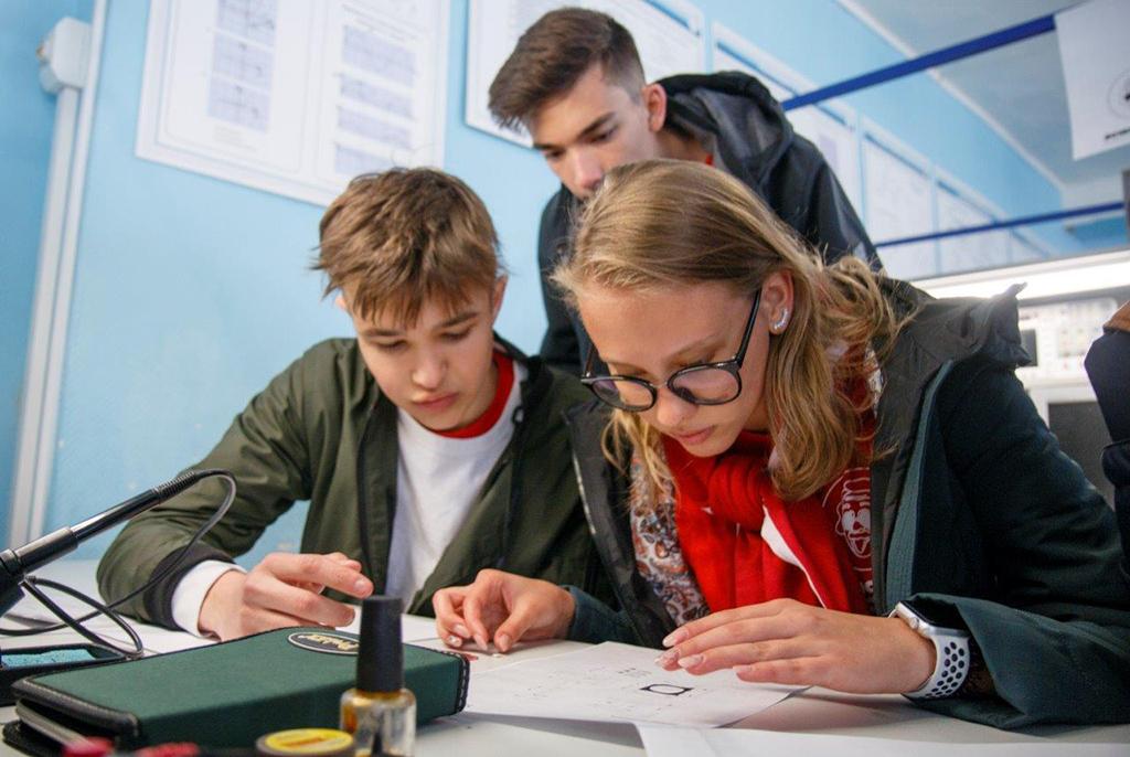 Финалисты научной игры Science Game прошли восемь локаций в ТУСУРе