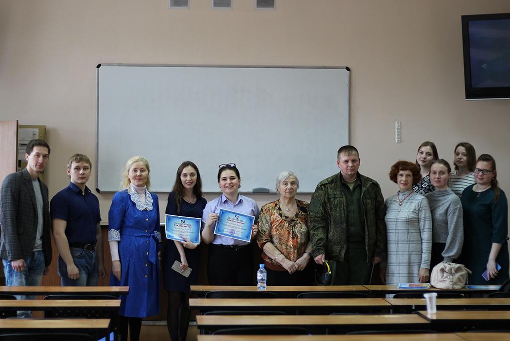 В ТУСУРе прошёл круглый стол, посвящённый 74-й годовщине Победы и 75-й годовщине освобождения Крыма