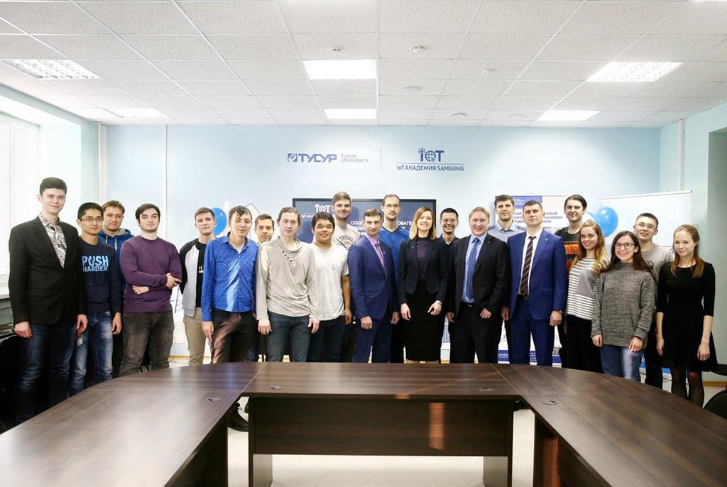 В ТУСУРе состоится первая защита проектов IoT Академии Samsung