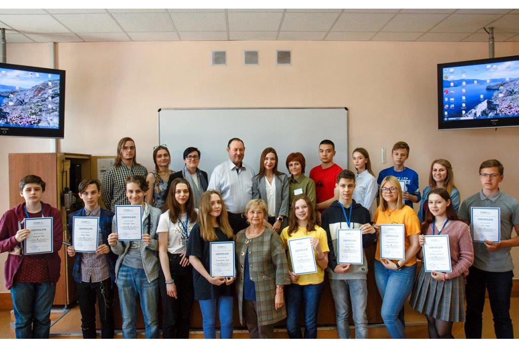 В ТУСУРе прошла летняя сессия языковой школы для лицеистов