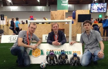 Students of TUSUR finish second at RoboCup German Open 2015