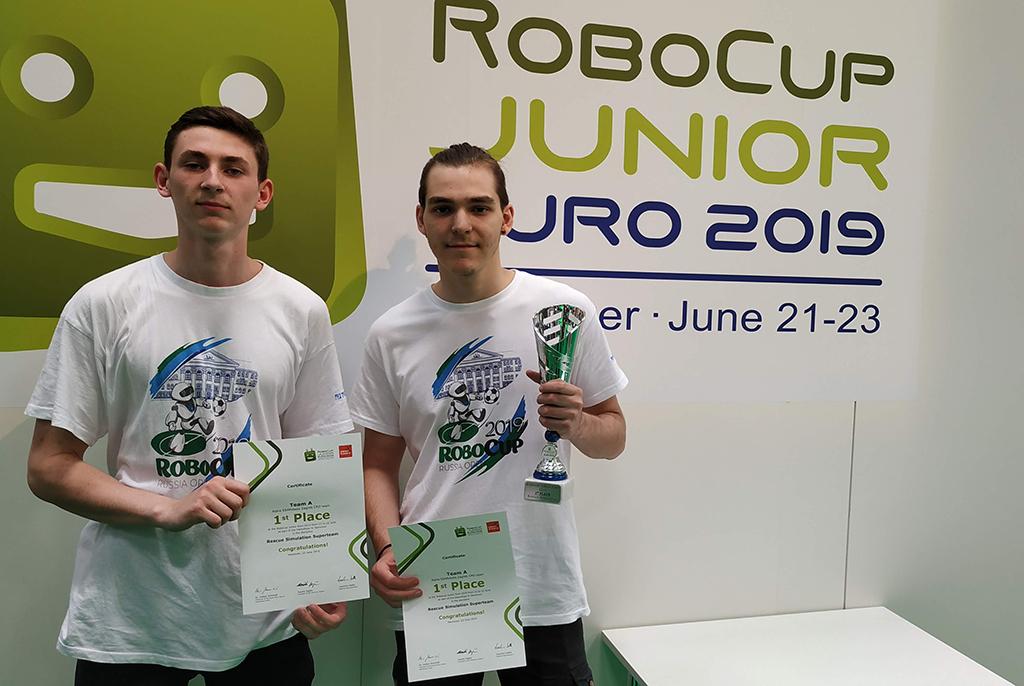 Команда ТУСУРа – победитель Европейского чемпионата по робототехнике RoboCup