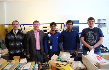 Students from India and Pakistan arrived for their internship at TUSUR